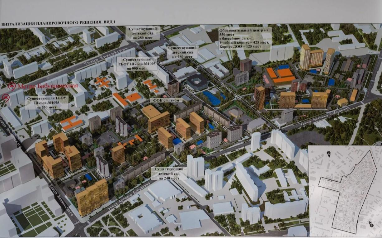 План реновации в Бабушкинском районе