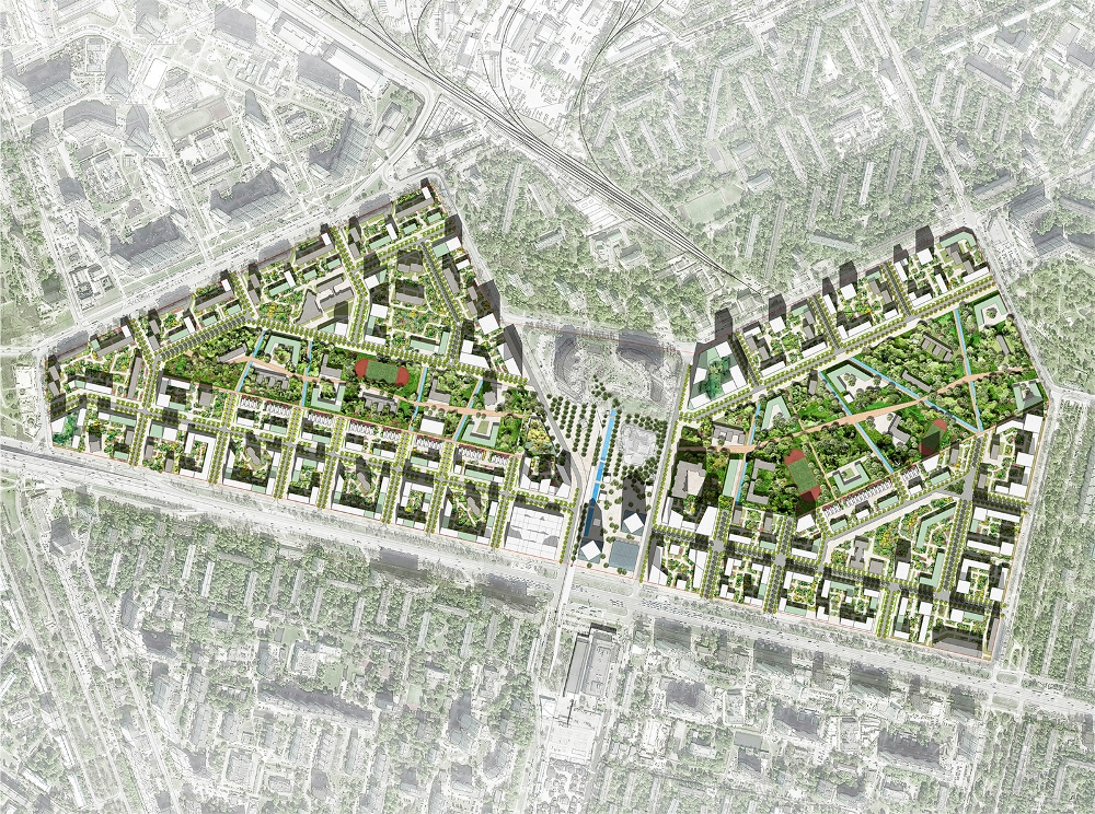 Реновация района Кузьминки