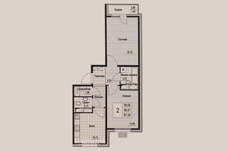 Планировка квартир по программе реновации в Москве_3