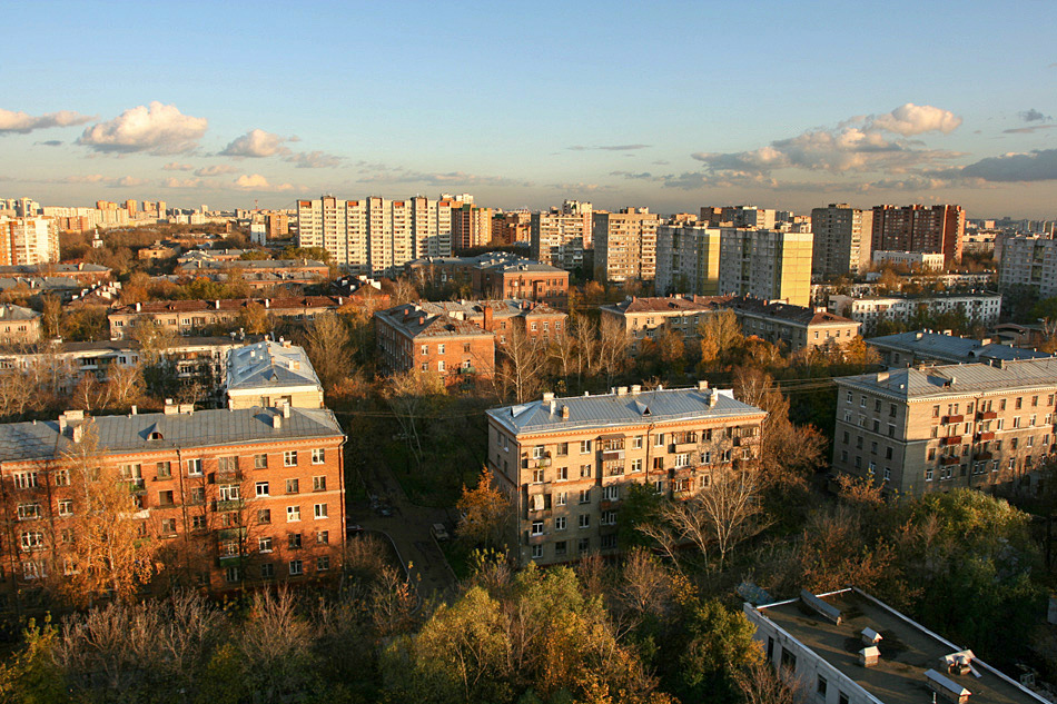 Москва микрорайон Новогиреево