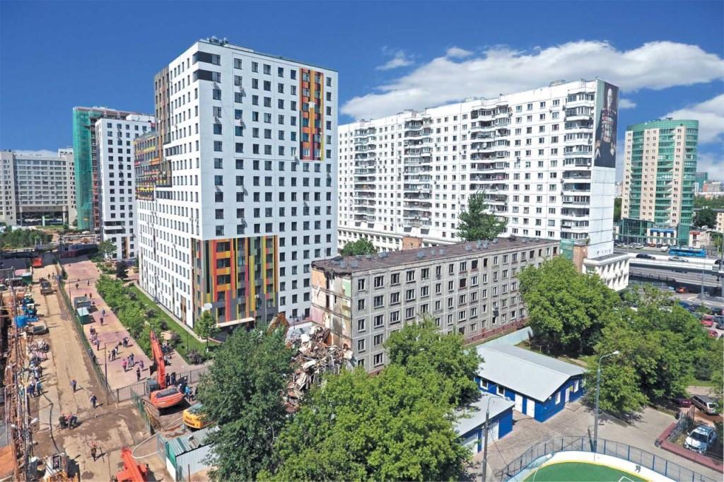 Новостройки по реновации в Москве