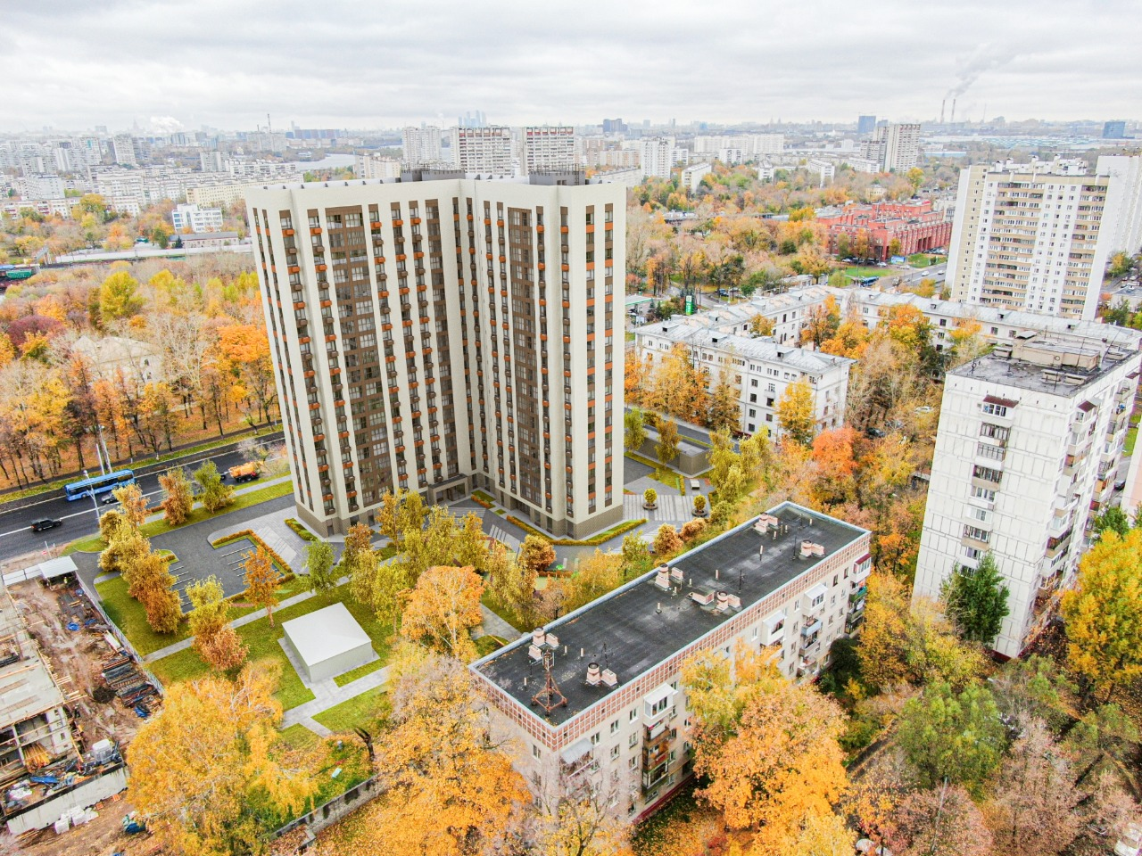 Проект застройки реновация в Люблино