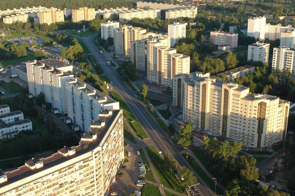 Крюково район Зеленоград