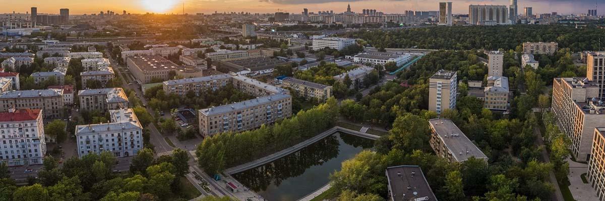 Пресненский район Москва ЦАО заставка