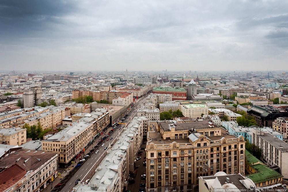 Тверской район Москва ЦАО